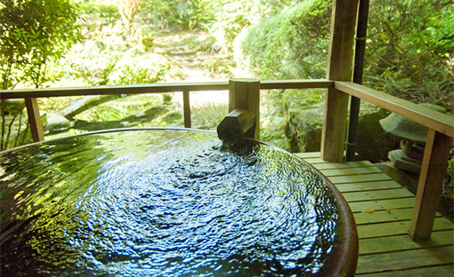 You will enjoy luxury hot spring anytime you want.